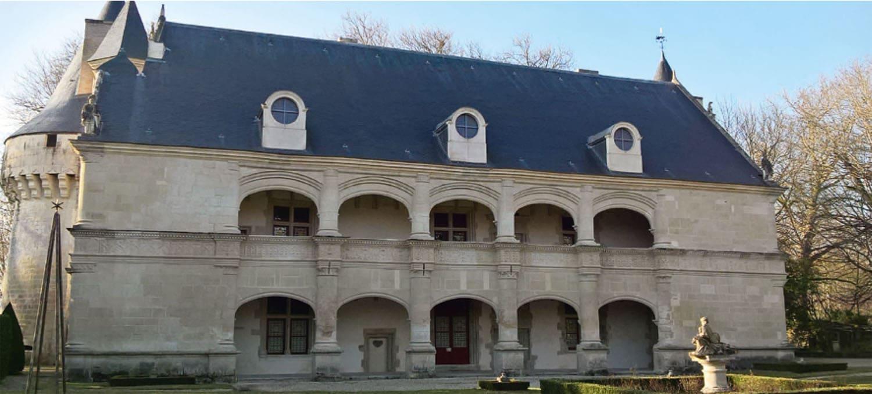 chateau de Dampierre sur Boutonne